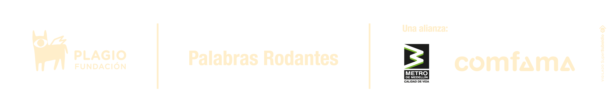 patrocinadores Medellín en 100 palabras