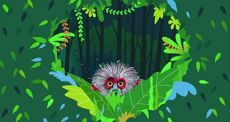 imagen El monstruo en el bosque